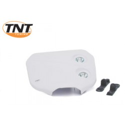 Careta portanumeros tnt doble optica