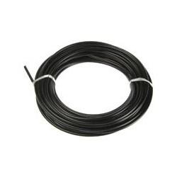Funda cable acelerador acero 1 M negra