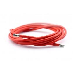 Funda cable acelerador acero 2m colores