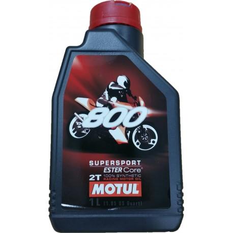 Aceite Motul 800 supersport sintetico 2T