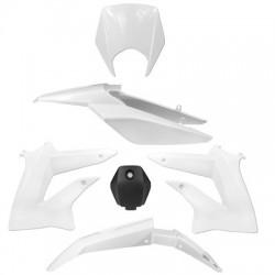 Kit de plasticos/carenado TNT Derbi Senda Drd Xtreme -2010-2015 Blanco