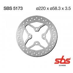 Disco delantero SBS Honda PCX 125 10-15