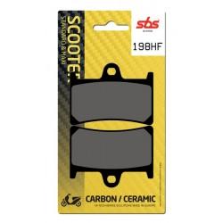 Pastillas de freno SBS Carbon/Ceramic Yamaha T MAX 530 12-16