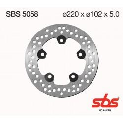 Disco trasero SBS Aprilia RS 125 93-05