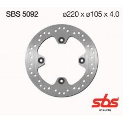 Disco de freno sbs Honda 125/150