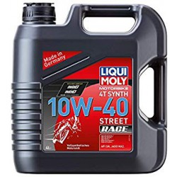 4L Liqui-Moly 100% sintético 10W-40 Street Race
