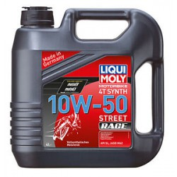 4L Liqui Moly Motorbike 4T sintético 10W-50 Race