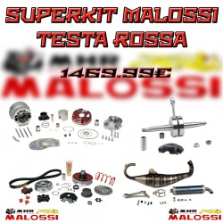 SUPERKIT MALOSSI TESTA ROSSA MHR