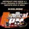 KIT PRO RACE 4 + ESCAPE RDC R 80 + CAJA LÁMINAS