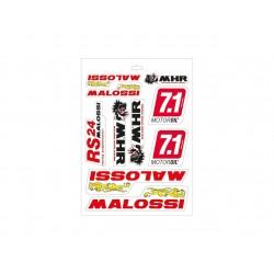 Hoja de adhesivos Malossi