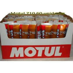 Aceite Motul 710 tubo 125cc caja 60 uds.