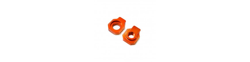 REAR AXLE SPINDLE CHAIN ADJUSTER BLOCKS